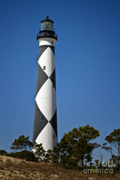 Harker Photograph - Cape Lookout Lighthouse by Carrie Cranwill