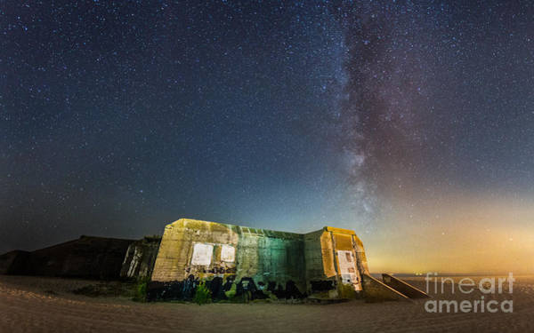 Michael Photograph - Cape May Bunker Under The Milky Way by Michael Ver Sprill