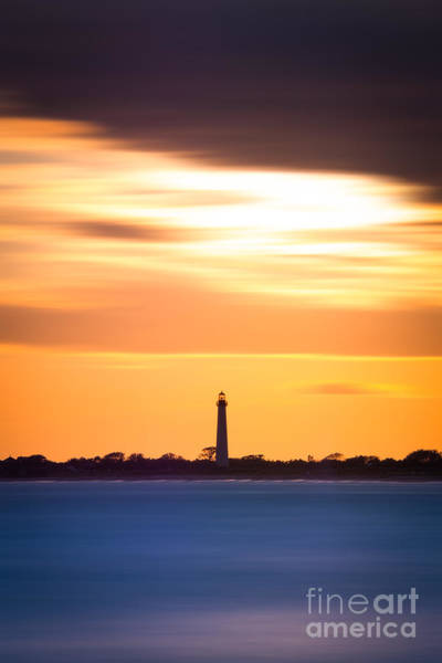 Cape May Lighthouse Photograph - Cape May Lighthouse Vertical Version 2 by Michael Ver Sprill