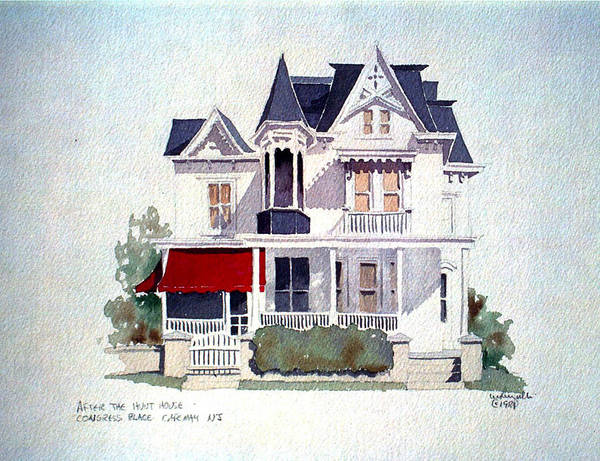 Cape May Victorian Art Print