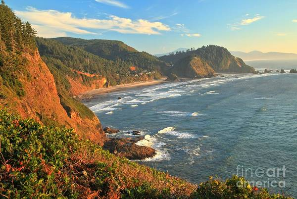 Photograph - Cape Meares Landscape by Adam Jewell