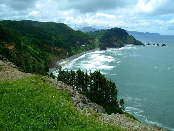 Photograph - Cape Meares by Laureen Murtha Menzl