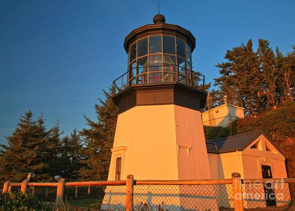 Photograph - Cape Meares Lighthouse Complex by Adam Jewell