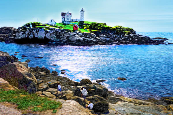 Wall Art - Photograph - Cape Neddick Light by Richard Trahan