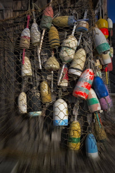 Photograph - Cape Neddick Lobster Buoys by Susan Candelario