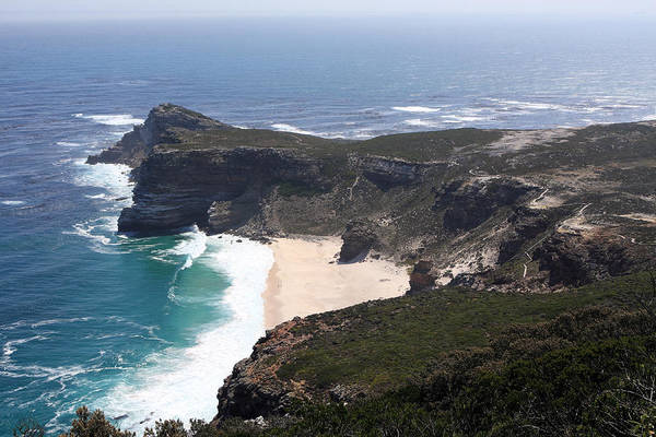 Photograph - Cape Of Good Hope Coastline - South Africa by Aidan Moran