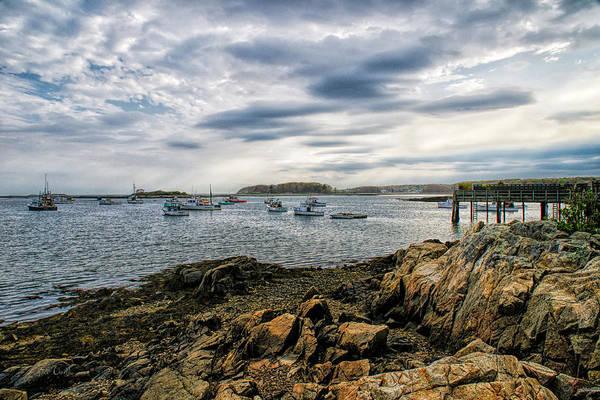 Photograph - Cape Porpoise Maine - Beautiful Day by Bob Orsillo