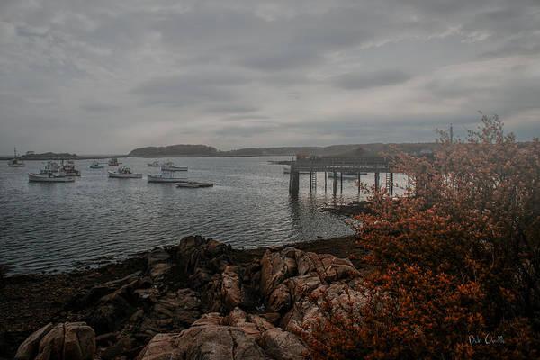 Photograph - Cape Porpoise Maine - Fog Rolls In by Bob Orsillo