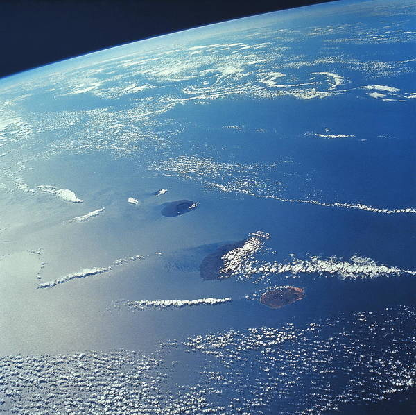 Verde Photograph - Cape Verde Islands by Nasa/science Photo Library