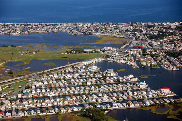 Photograph - Cape Windsor - Fenwick Island Aerial by Bill Swartwout Photography