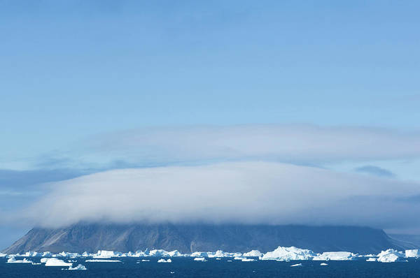 Melville Photograph - Cape York In The Fog, Melville Bay by Daisy Gilardini