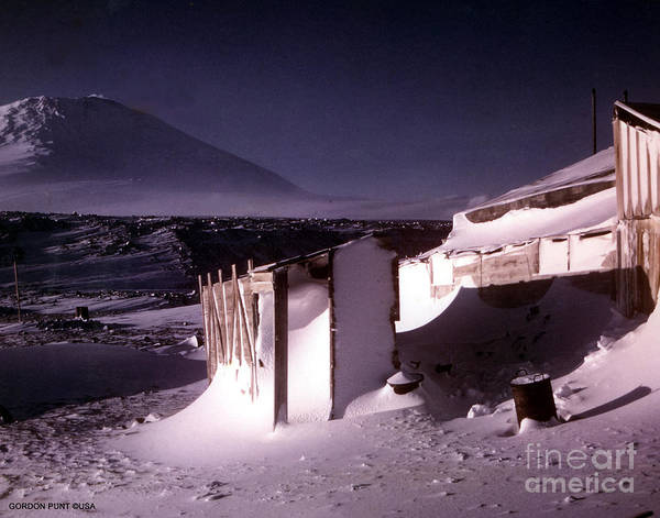 Photograph - Capeevanshut-antarctica-g.punt-5 by Gordon Punt