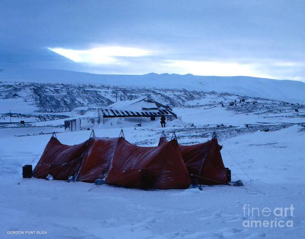 Photograph - Capeevanshut-antarctica-g.punt-9 by Gordon Punt
