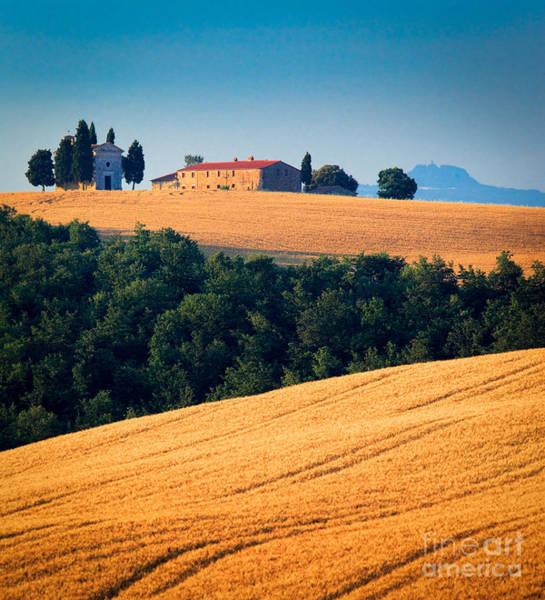 Field Trip Photograph - Capella Di Vitaleta by Inge Johnsson