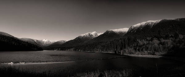 Wall Art - Photograph - Capilano Dam In Black And White by Monte Arnold