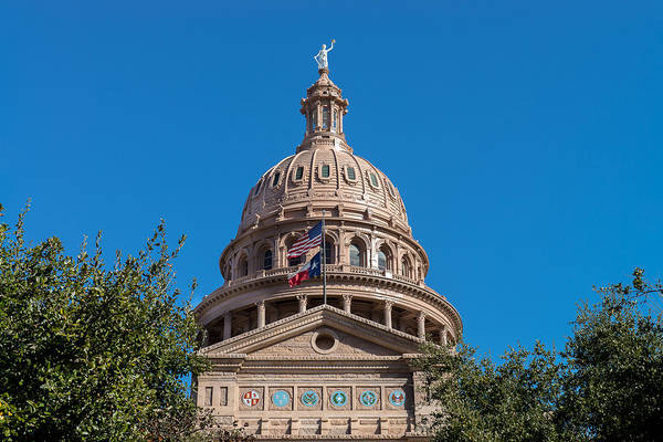 Photograph - Capital Dome by John Johnson