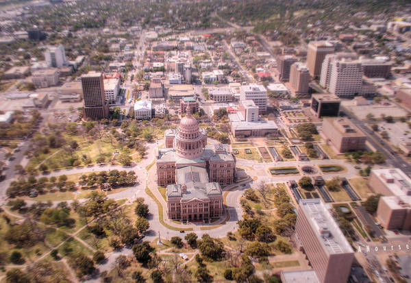 Wall Art - Photograph - Capital Of Texas by Andrew Nourse