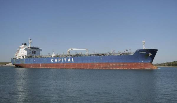 Photograph - Capital Tanker Arionas by Bradford Martin