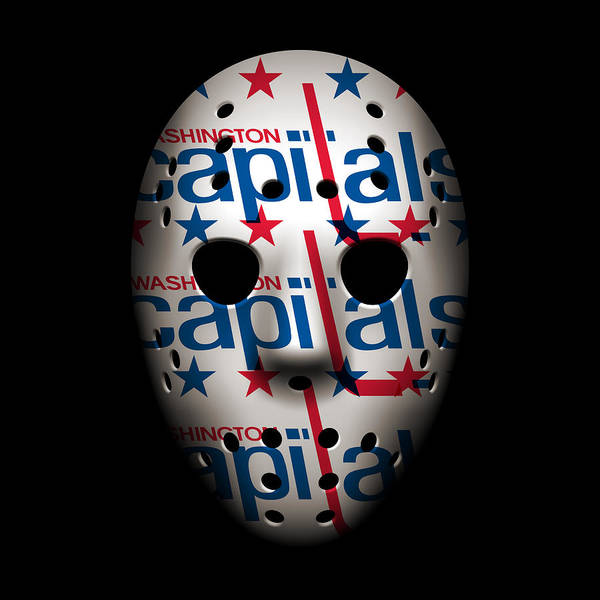 Washington Capitals Photograph - Capitals Goalie Mask by Joe Hamilton