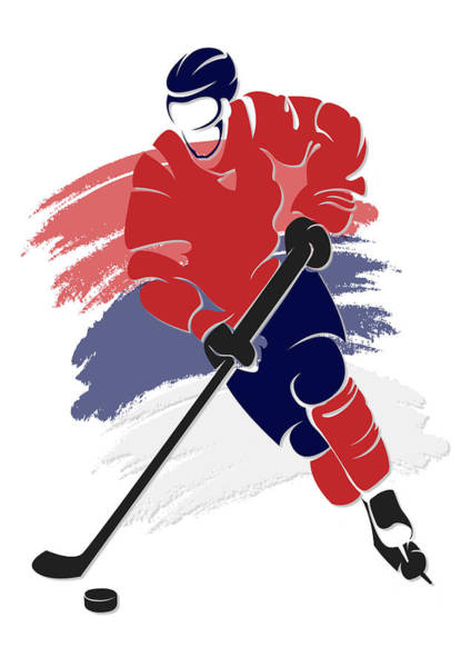 Washington Capitals Photograph - Capitals Shadow Player2 by Joe Hamilton