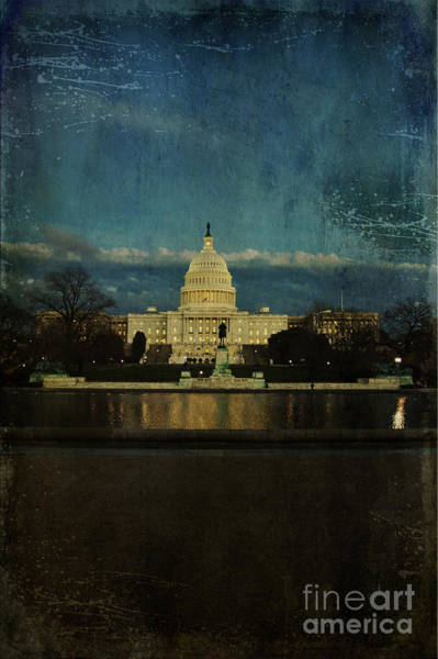 Photograph - Capitol Blues by Terry Rowe