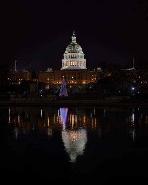 Photograph - Capitol Christmas - 2012 by Metro DC Photography