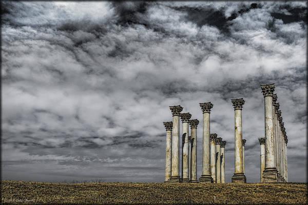 Photograph - Capitol Columns by Erika Fawcett