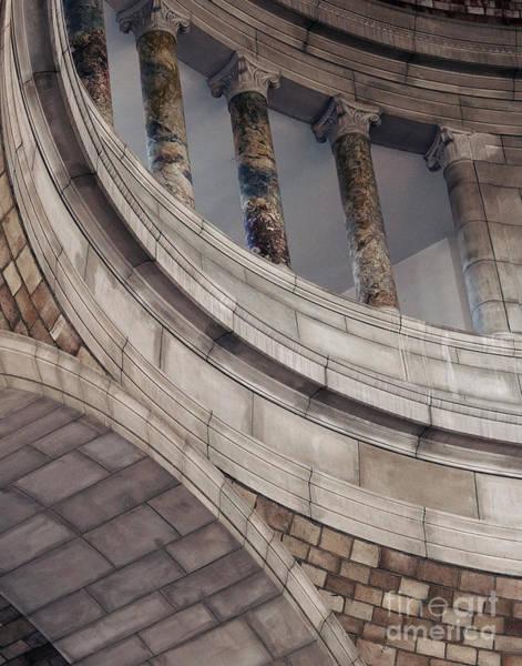 Capitol Curves Art Print