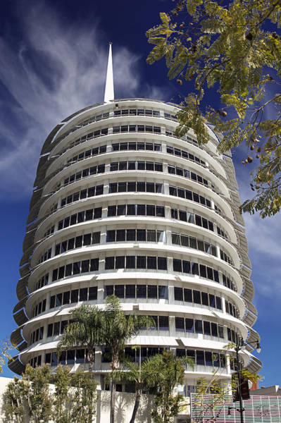 Photograph - Capitol Records Building 2 by Endre Balogh