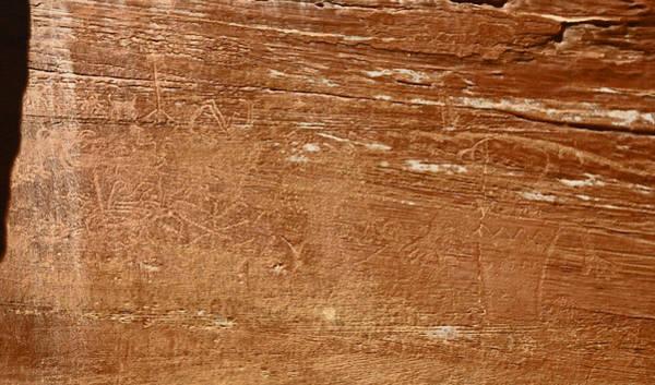 Capitol Reef Np Petroglyph Art Print