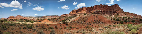 Wall Art - Photograph - Capitol Reef Panorama No. 1 by Tammy Wetzel
