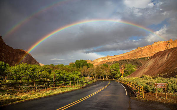 Photograph - Capitol Reef Rainbow by Pierre Leclerc Photography