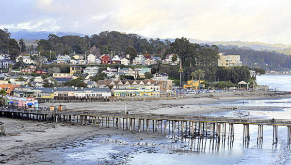 Photograph - Capitola By The Sea by AJ  Schibig