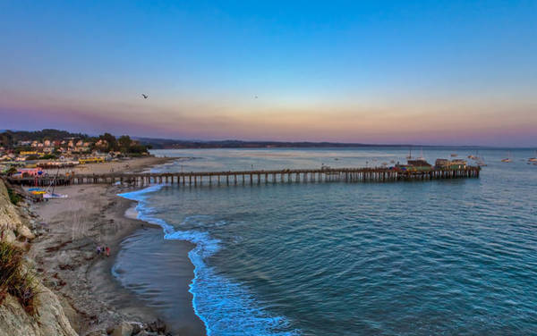 Monterey Bay Photograph - Capitola Pier by Tommy Farnsworth