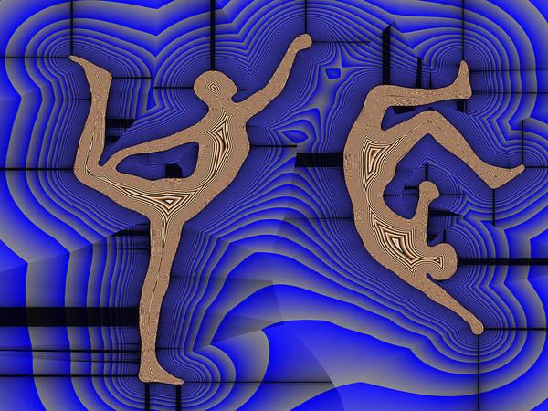 Capoeira Digital Art - Capoeira 6 by Jack Bowman