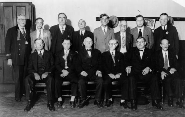 Wall Art - Photograph - Capone Trial, 1931 by Granger