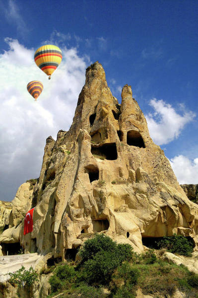 Cappadocia Photograph - Cappadocia Houses by M Reza Faisal