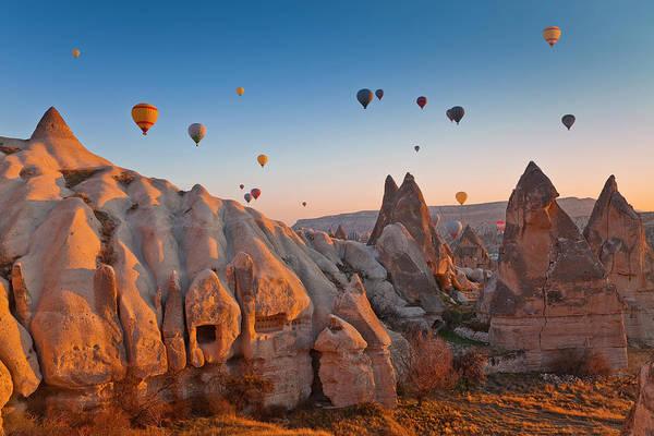 Cappadocia Photograph - Cappadocia, Turkey by Benstevens