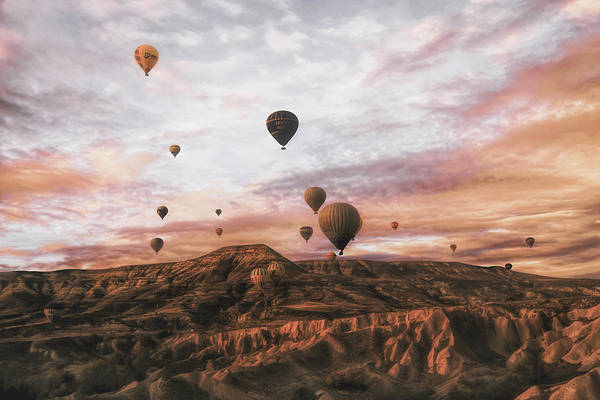 Air Balloon Wall Art - Photograph - Cappodocia Hot Air Balloon by Ayse  Yorgancilar