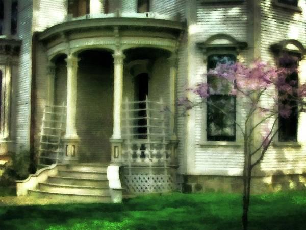 Victorian House Digital Art - Cappon House by Michelle Calkins