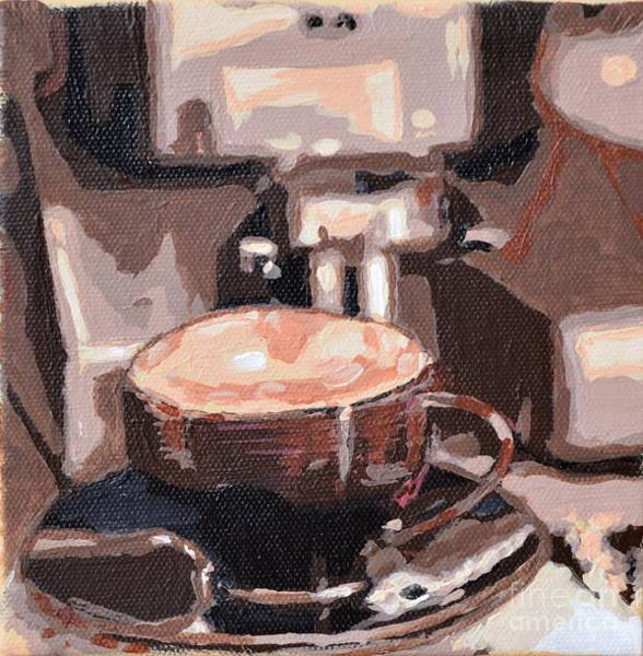 Painting - Cappuccino by Laura Toth