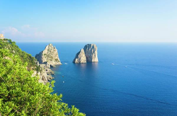 Capri Photograph - Capri Island by Brzozowska