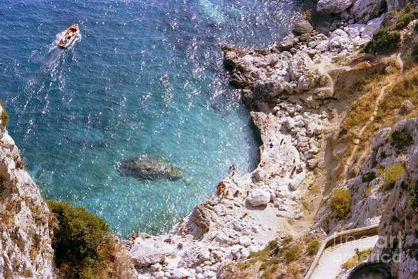 Capri Ocean Coast Art Print