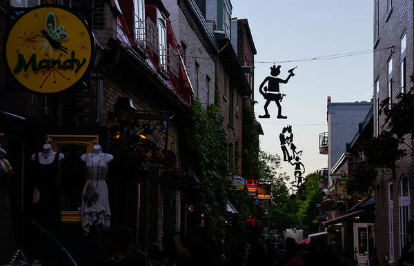Photograph - Capricious Quebec City Public Art by Georgia Mizuleva