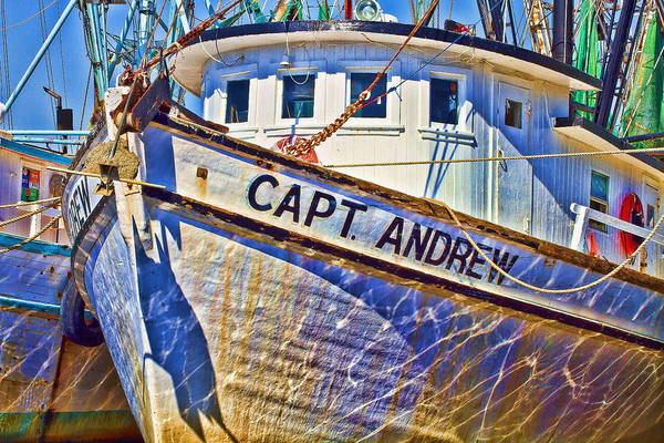 Photograph - Capt Andrew Shrimper by Bill Barber