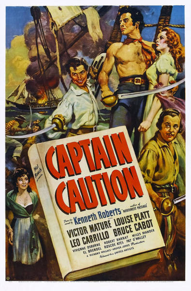Carrillo Photograph - Captain Caution, Us Poster, Top by Everett