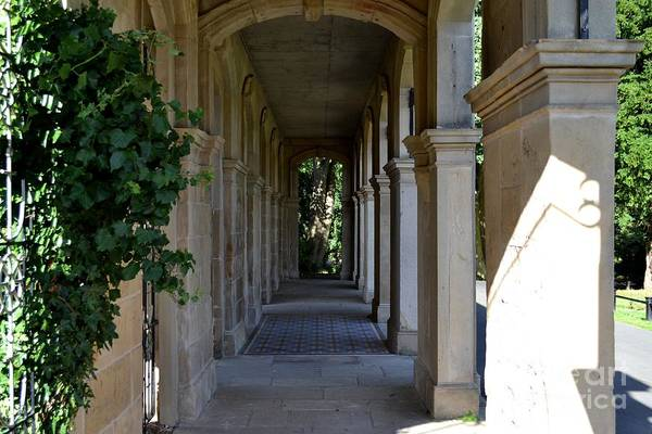Captain Cook Museum Walkway Art Print
