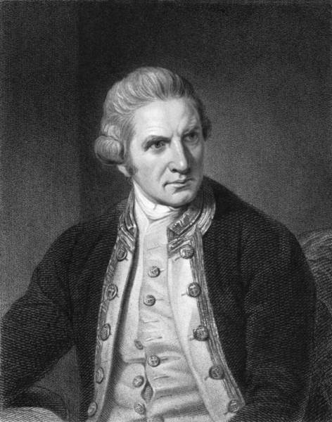 18th Century Photograph - Captain James Cook by Underwood Archives