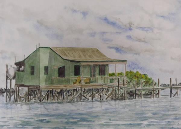 Captiva Island Painting - Captiva Fish House by Gary Thomas