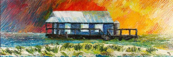 Captiva Island Painting - Captiva Fishhouse by Matthew Young